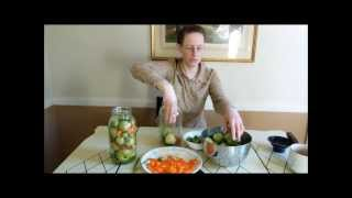 Way To Use Up Green Tomatoes - Romanian Dill Pickle Tomatoes How To Pickle