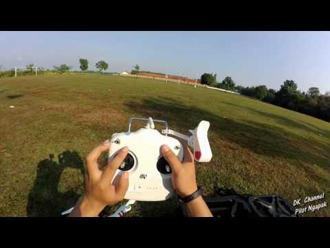 Cara Menerbangkan Drone DJI Phantom 3 Standard
