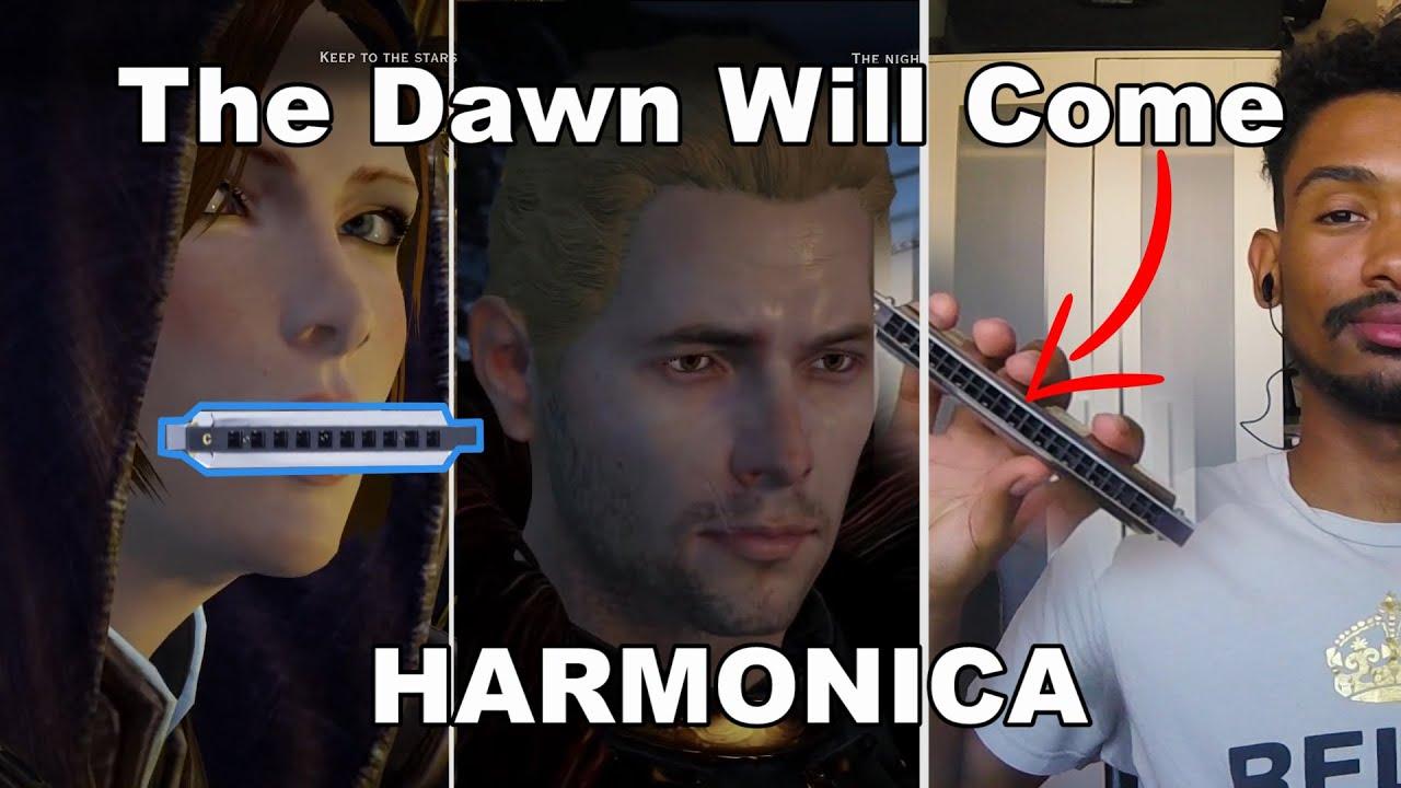 [Harmonica] Dragon Age Inquisition - The Dawn Will Come +TABS
