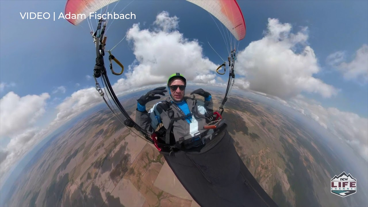 Paragliders take to the skies from Chelan Butte for US Open