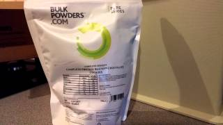 Bulk Powders - Complete Protein Blend Unboxing