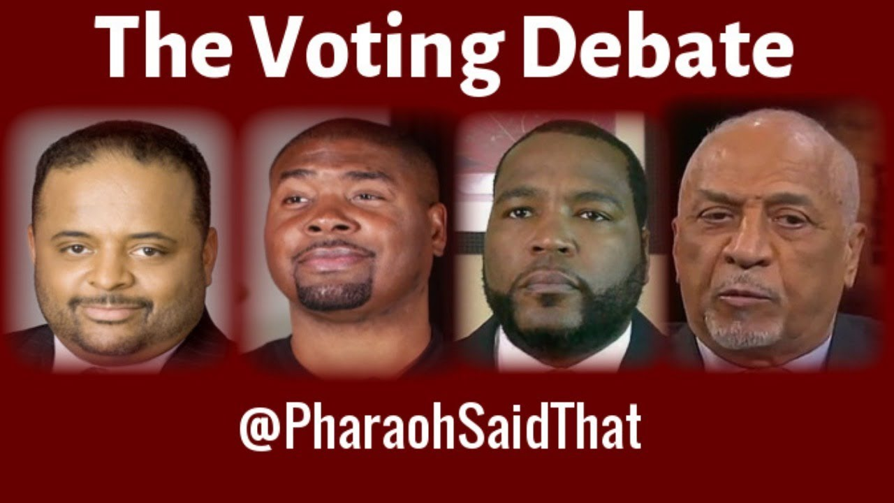 (LIVE) Roland Martin, Tariq Nasheed, Umar Johnson, Claud Anderson And Voting