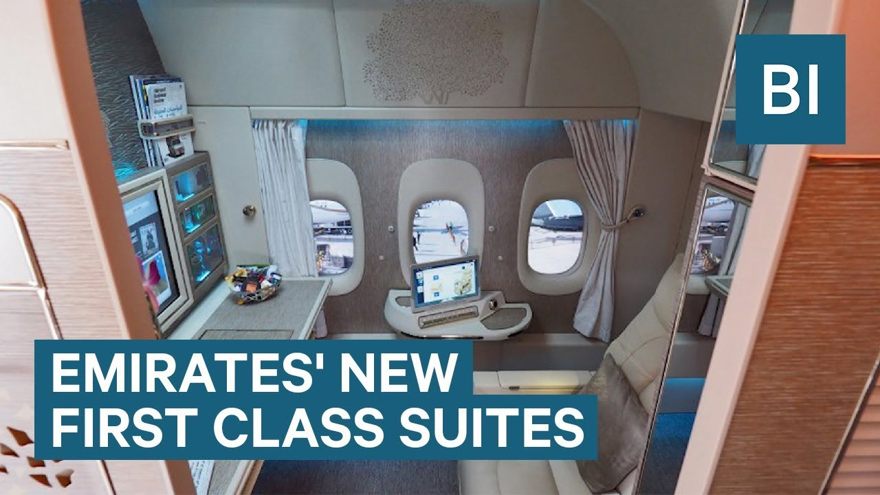 Inside Emirates​' New First Class Suites With Virtual Windows And NASA-Inspired Seats
