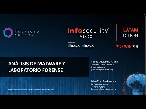Análisis de Malware y laboratorio forense