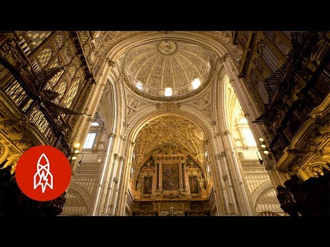 Visit The Spanish Cathedral Within A Mosque