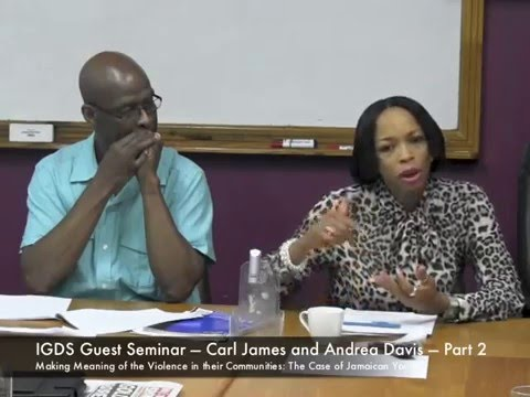 IGDS Guest Seminar — Andrea Davis and Carl James Part 2 Discussion