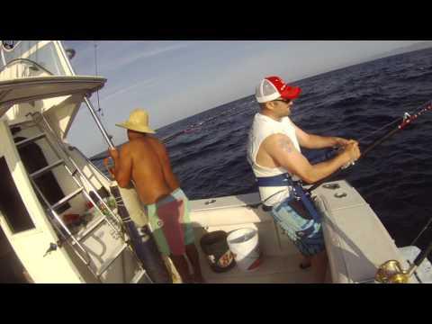 Patrick Dennis, Marla VI, 3/21/2017, 175 pound yellow fin tuna, the first 45 minutes!