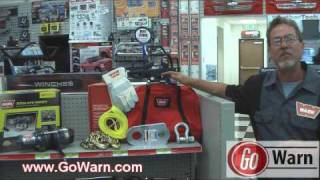 Complete Your Winching Kit with Warn Accessories