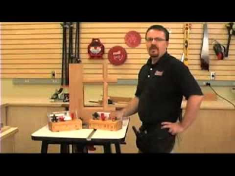 Freuds French Door Router Bit System Trailer Video Youtube