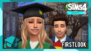 The Sims 4 UNIWERSYTET  CAS FIRSTLOOK  Jestem zachwycona