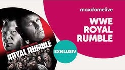 WWE Royal Rumble – am 25. Jan. live bei maxdome