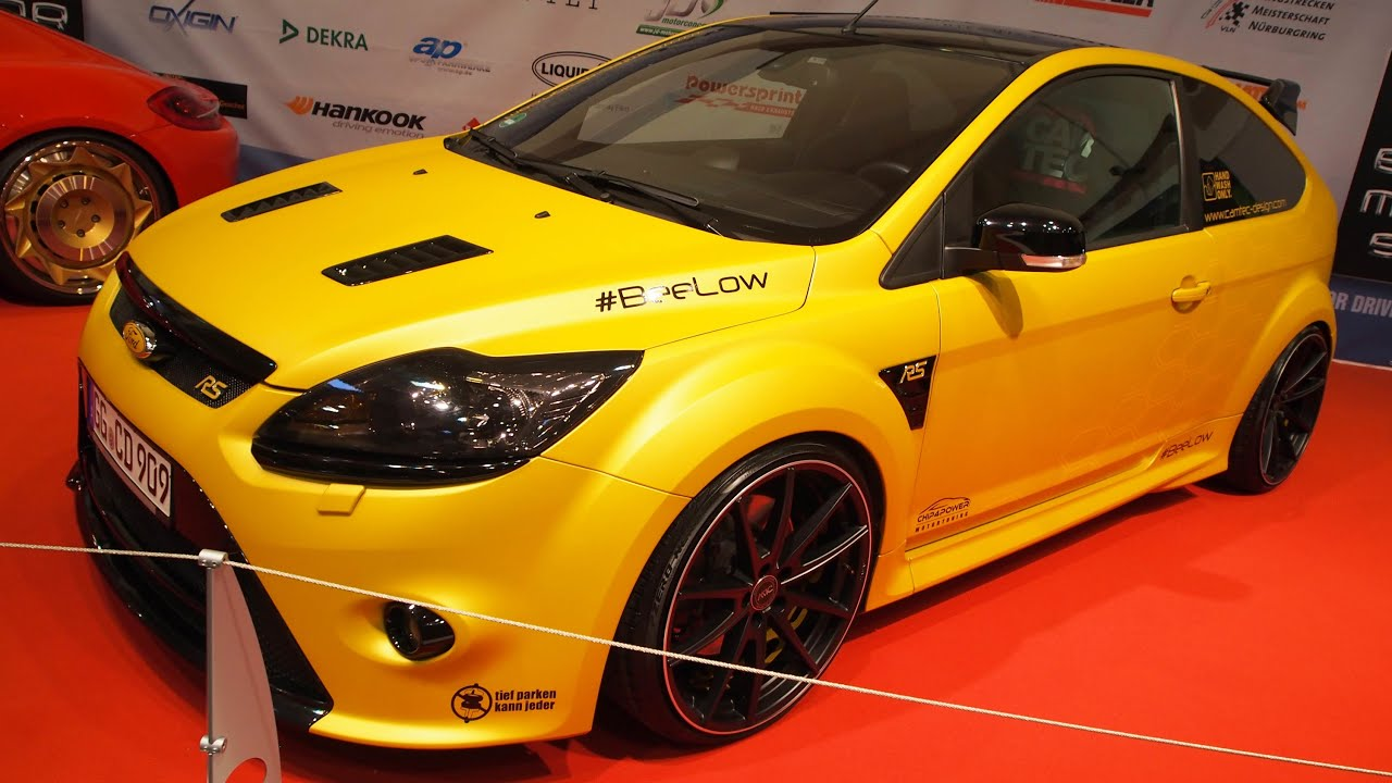 ford focus rs 380 ps tuning at essen motorshow exterior. Black Bedroom Furniture Sets. Home Design Ideas