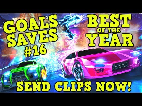 SEND Rocket League GOALS, SAVES & FAILS for Community Montage #16 + BEST OF THE YEAR!