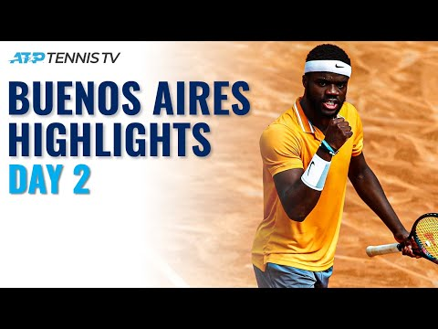 Cerundolo Brothers In Action; Tiafoe Gets Campaign Underway | Buenos Aires 2021 Highlights Day 2