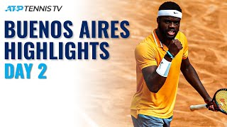 Cerundolo Brothers In Action; Tiafoe Gets Campaign Underway   Buenos Aires 2021 Highlights Day 2