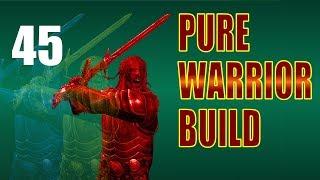 Skyrim Pure Warrior Walkthrough NO MAGIC, SURVIVAL MODE Part 45: Fighting Through Folgunthur