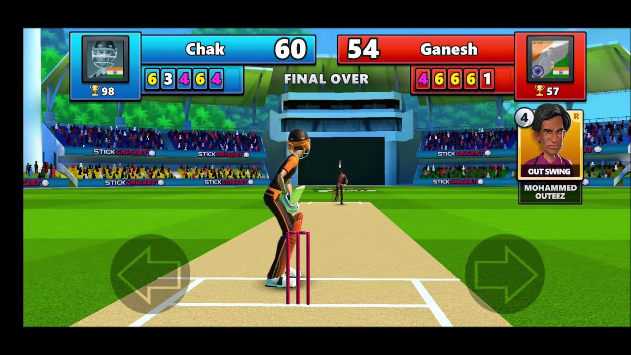 Best Online Mulitplayer Cricket Game Stick Cricket Live 2020 For Android Youtube
