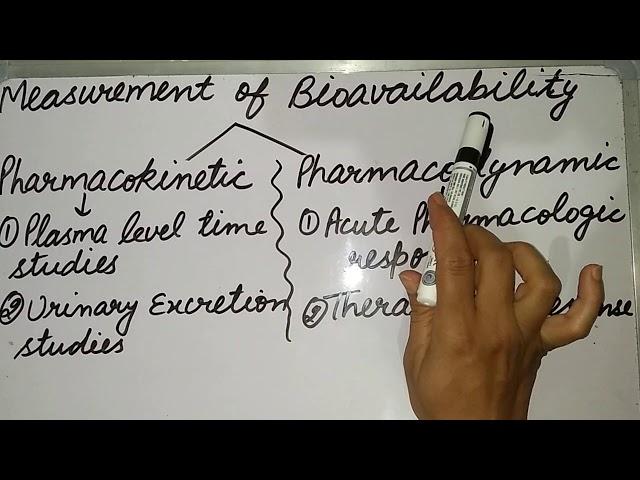 B.pharm 6th sem..bio-pharm/bioavailability part 2