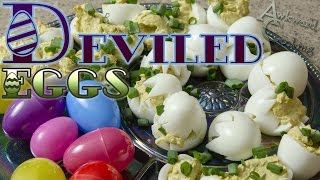 Deviled Eggs Recipe, Awkward Cooking #8