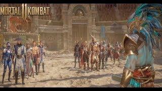 Mortal Kombat 11 Kronika Ressurects Shao Kahn, Lui Kang, Kung Lao, ect - Dead Fighters (#MK11)