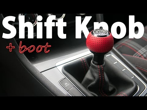 How to Install a BFI Shift Knob and Boot on a MK7