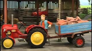 Kleine rode Tractor - De wind