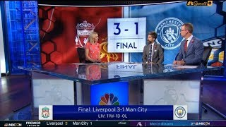 """Liverpool vs Manchester city 3-1 Post Match Analysis; Robertson & Arnold """"on fire"""" REACTION"""