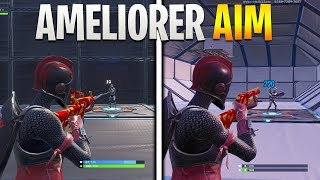HOW to IMPROVE HIS AIM ASTUCE ENTRAINEMENT PRO on FORTNITE!