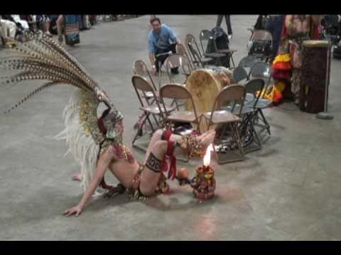 Winter Pow Wow - Aztec Fire Dance