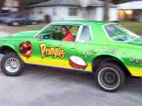 """DRAKSTAR VIDEOS""PRINGLES CAR ACTING AN ABSOLUTE FOOL PT.1"