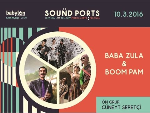 Boom Pam - Live in Babylon - Sound Ports (İstanbul) 10.03.2016