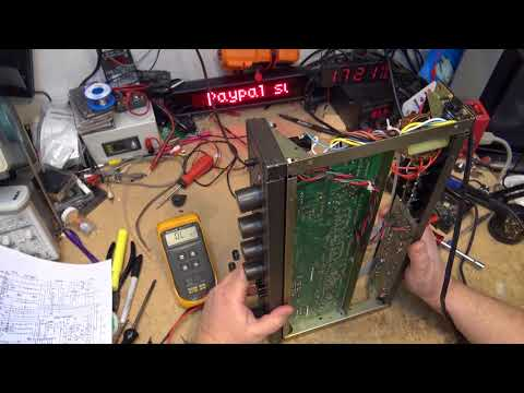 Haffler 110 preamp severe distortion and noise repair