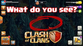 THE BUILDER LEFT & DID THIS in Clash Of Clans Night Mode Village | CoC Commercial Glitch Mode Base