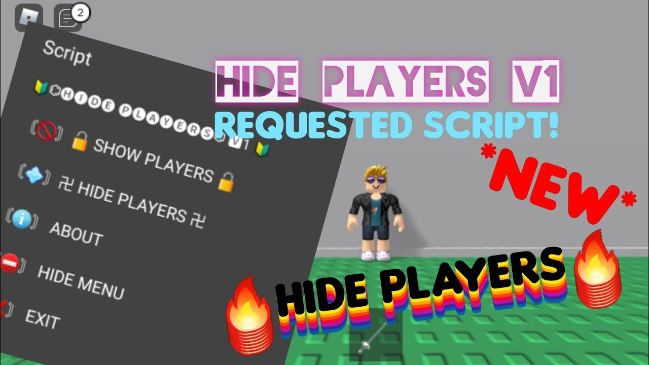 Roblox New Hide Players Script Roblox Exploit Mobile Game