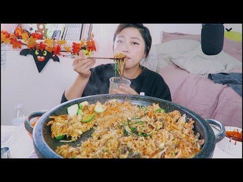 Bibimbap (Korean Mixed Rice) Recipe Mukbang ~