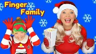 Christmas Finger Family Song | Santa Finger Family with Santa Dance | Nursery Rhymes for Kids