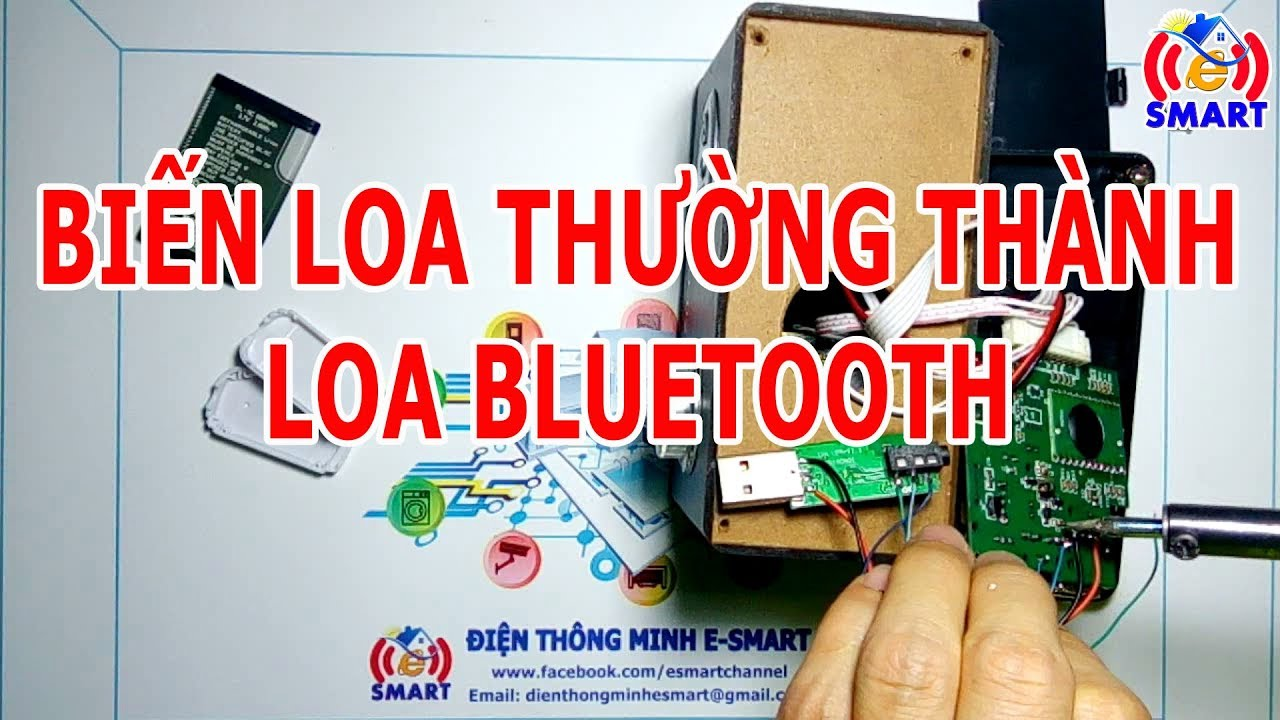 Biến loa thường thành loa bluetooth – usb bluetooth audio