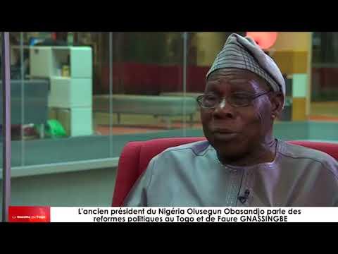 L'ancien président du Nigeria Olusegun Obasanjo se prononce sur le cas togolais