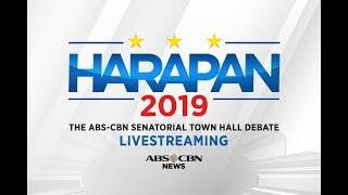 LIVE - Harapan 2019: The ABS-CBN Senatorial Town Hall Debate
