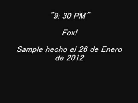 """9: 30 PM"" -- Fox! (DJ Kawasaki Semi Cover - Sample)"