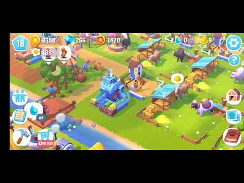 New Simulation Android / iOS Game 2019 [Farm Ville 3] Gameplay Part 2