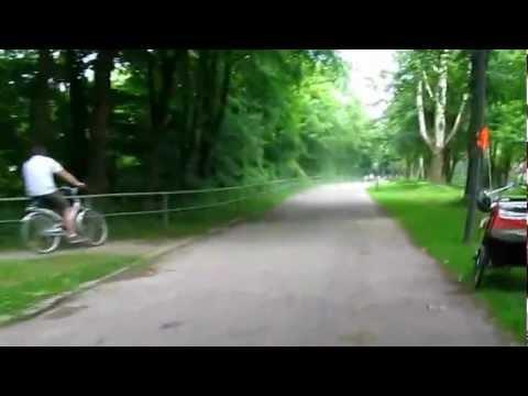 RADWEG Grunwald - Munchen Wittelsbacherbrucke