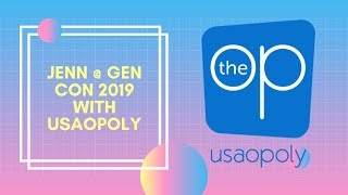 Jenn @ Gen Con 2019: USAopoly