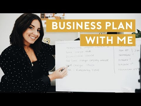 Plan With Me for Business Growth | Monthly Business Planning