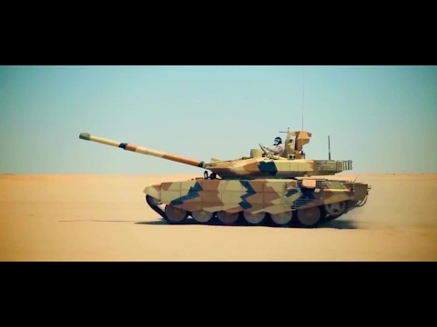 Ria Novosti - T-90MS Main Battle Tank Testing In Kuwait [1080p]