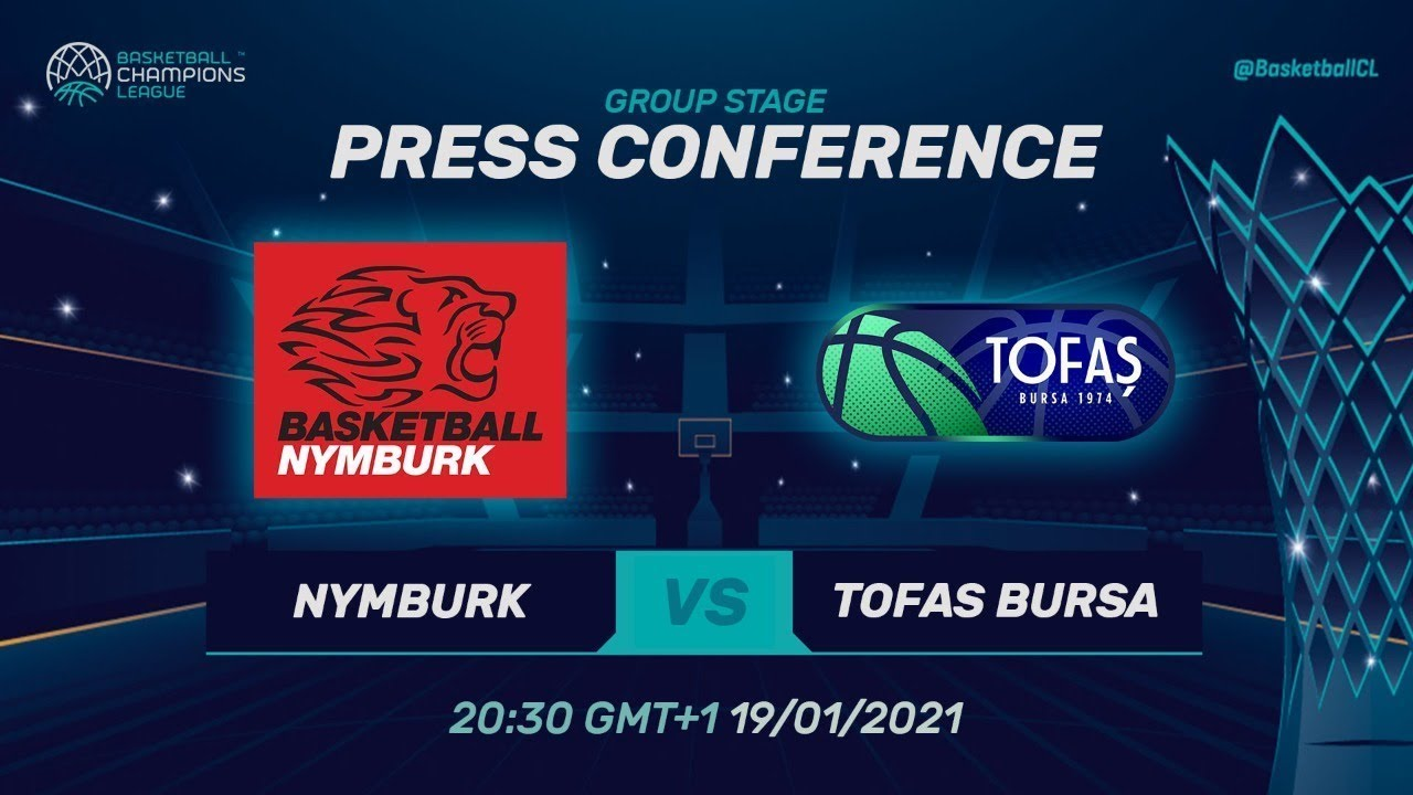 ERA Nymburk v Tofas Bursa - Press Conference