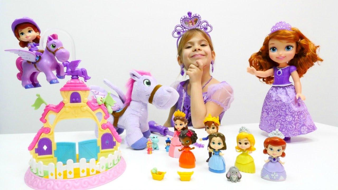 Çizgi film oyuncakları. Prenses Sofia'nın ailesi ile tanışıyoruz
