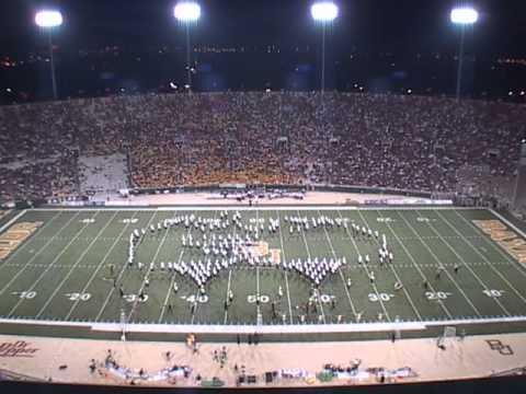 2004 Baylor University Golden Wave Band Halftime Shows