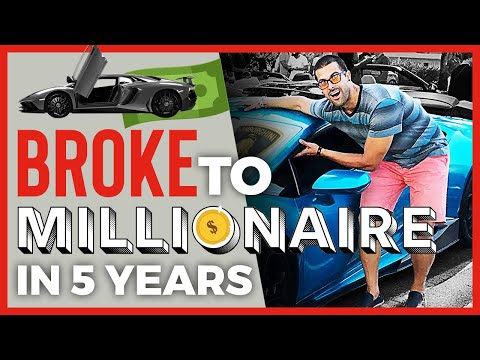 How To Become a MILLIONAIRE in LESS THAN 4 YEARS!!