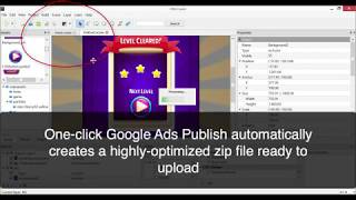 Playable Ads Tutorial : Google Ads One-Click Publishing with 2DKit